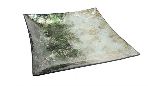 """Стъклено плато """"Verde"""""""