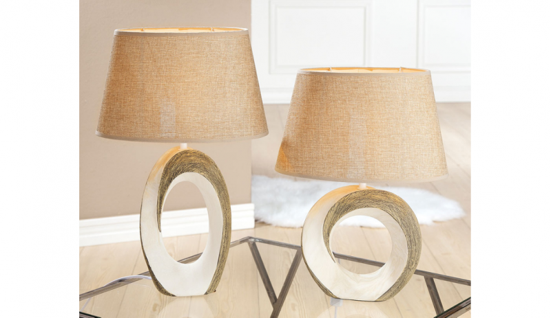 "Нощна керамична лампа ""Tondo"""