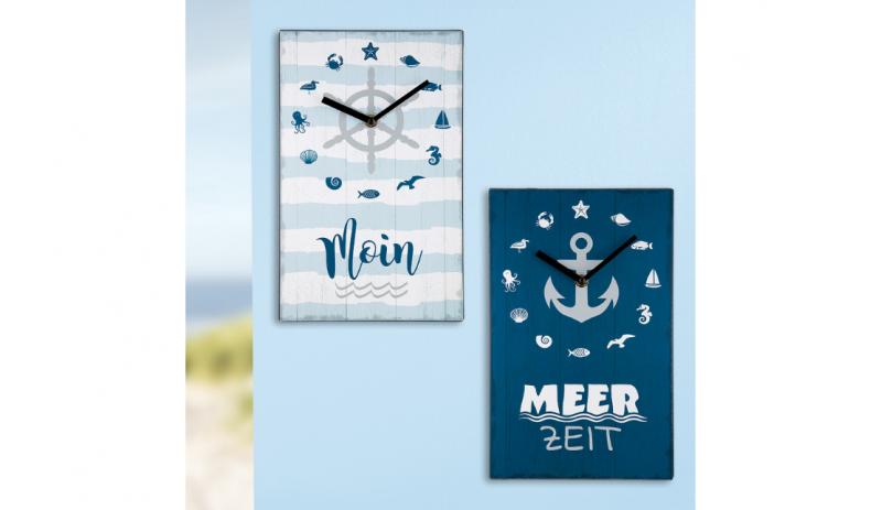 """Стенен часовник """"Море"""""""