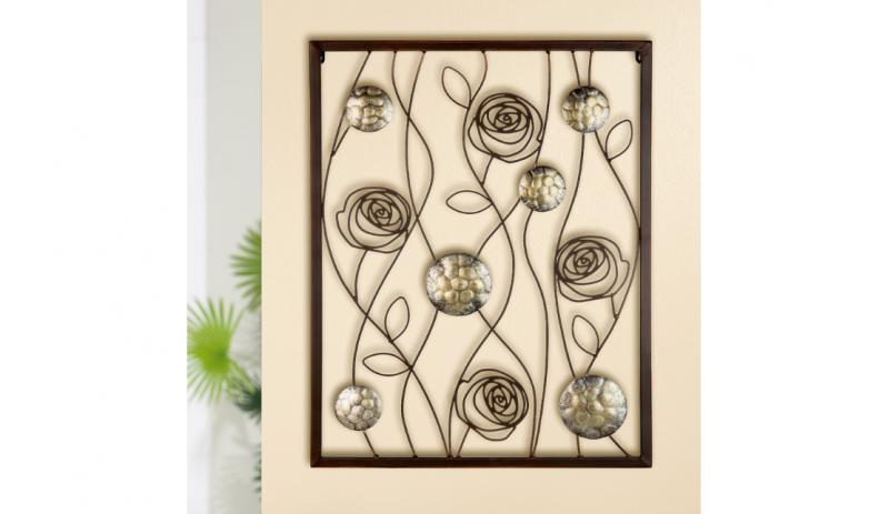 """Релефна декорация за стена """"Rose"""""""
