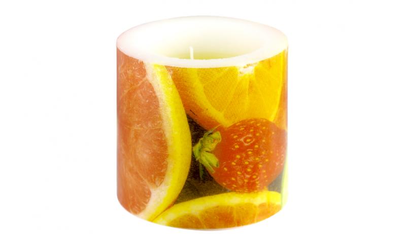 """Ароматна свещ """"Fruits"""""""