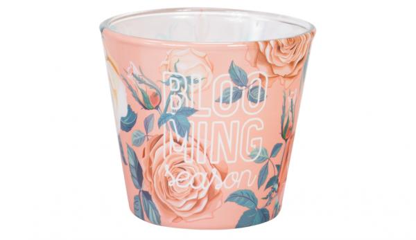 """Ароматна свещ в стъклена чаша """"Rose and Dahlia"""""""