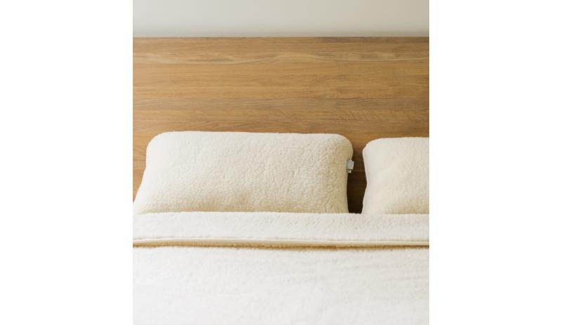 Вълнено одеяло Luka от естествена мериносова вълна сертифицирана отWoolmark®