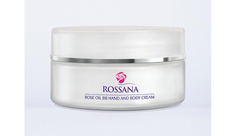 Подхранващ BB крем за тяло и ръце с розово масло