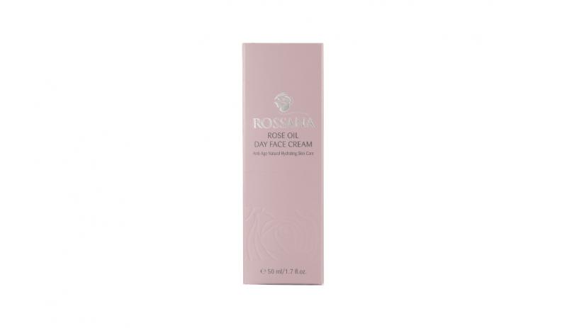 Дневен крем за лице с розово масло