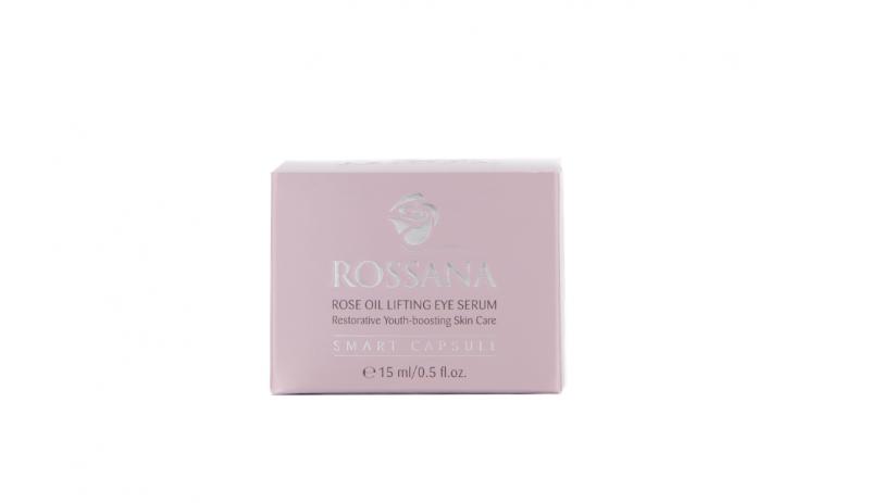 Околоочен серум с розово масло