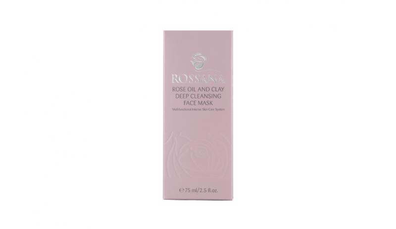 Почистваща маска за лице с розово масло
