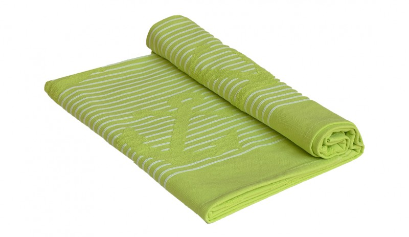 Плажна хавлия от 100% памук, 400 гр./м2