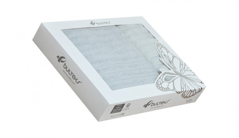 Комплект кърпи от 100% памук, 450 гр./м2