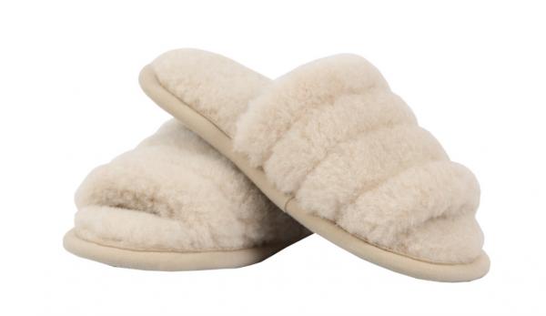 """Вълнени домашни дамски чехли """"Duna"""""""