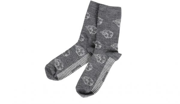 Вълнени чорапи Сиви