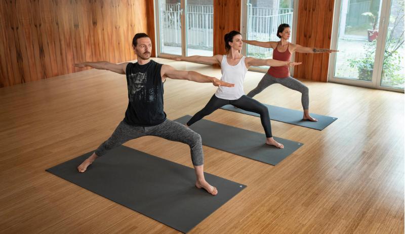 Комплект за йога Anthracite