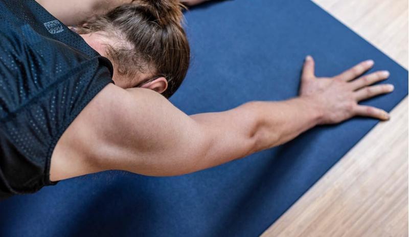 Постелка за йога и гимнастика Dark Blue